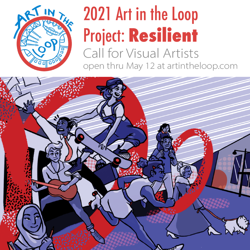 Art in the Loop seeks art for Downtown Kansas City. Applications are due on May 12, 2021.