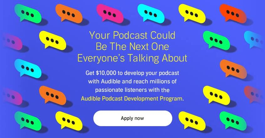 Audible Seeks Podcast Submissions