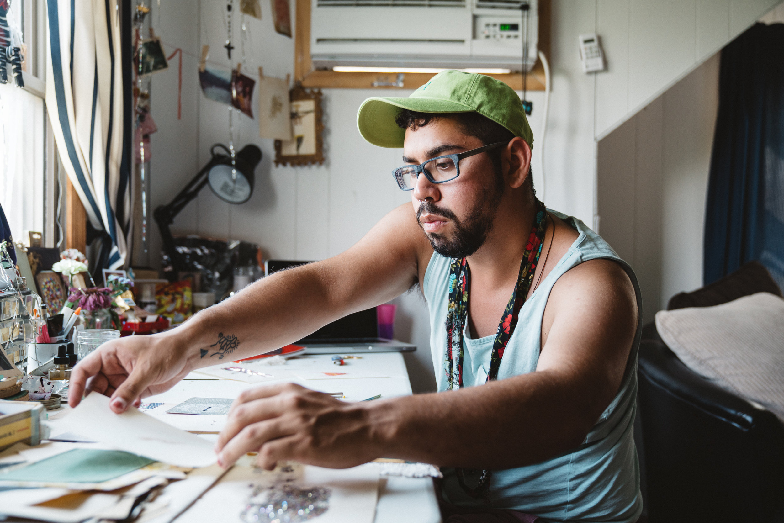 Rodolfo Marron (pictured) at the Fire Island Artist Residency. Applications due on April 2.