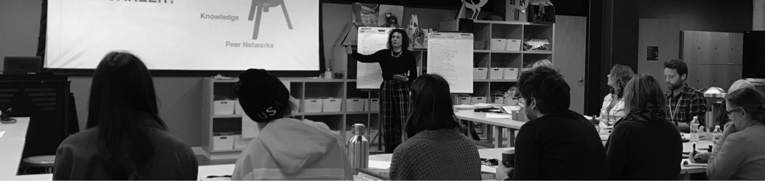 Lisa Marie Evans leads the Artists INC Tulsa Cohort in 2018