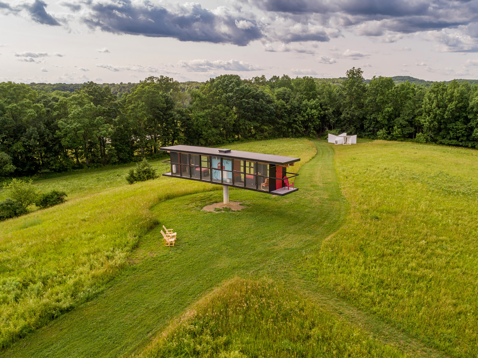 Art Omi Residency provides artists with space in the beautiful Hudson Valley of New York.