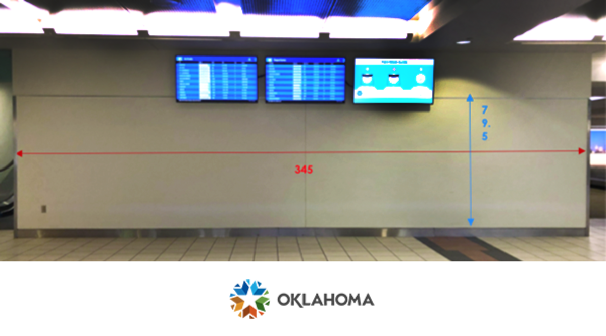 Will Rogers Airport in Oklahoma City, Oklahoma is seeking Oklahoma based artists for mural opportunity. Submit RFP by August 23, 2021.